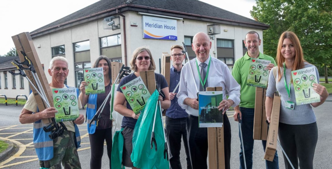 Winsford Litter project boosted by donation
